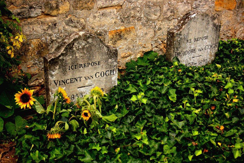 van gogh mezarı ile ilgili görsel sonucu