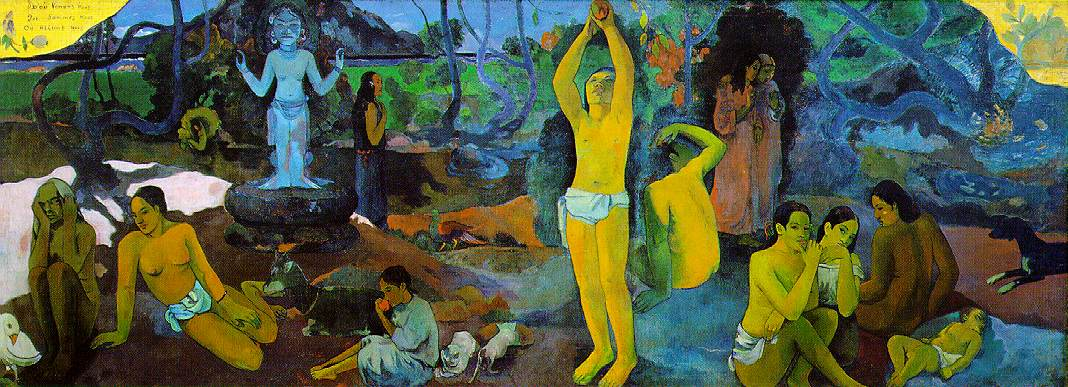 ( felsefe ) I-2-Gauguin, Where Do We Come From? What Are We? Where Are We Going?