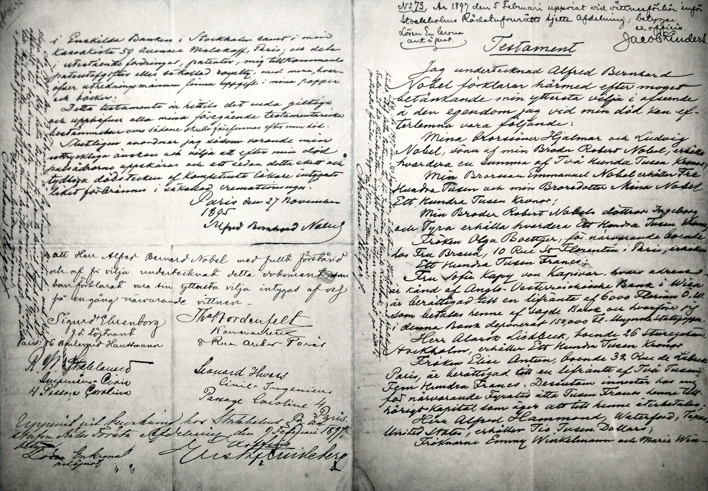 Alfred_Nobels_will-November_25th_1895